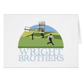 Wright-Brüder Karte