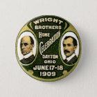 Wright-Brüder - Knopf Runder Button 5,7 Cm