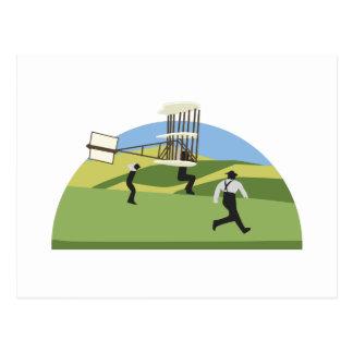 Wright-Brüder Postkarte