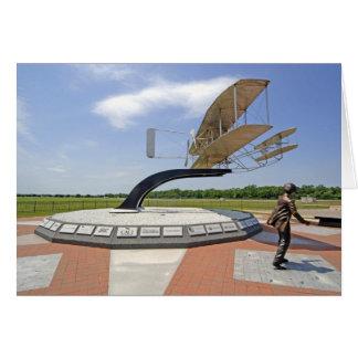 Wright-Flyer-Flugzeuge Karte