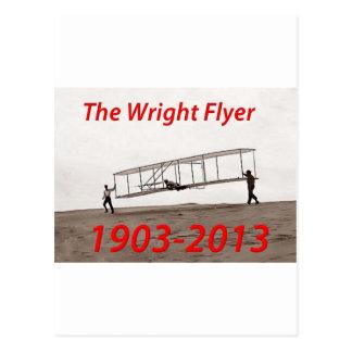 Wright-Flyer-Jahrestag (1903-2013) Postkarten