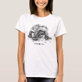 Wright rechtzeitig bucht Schildkröte T-Shirt