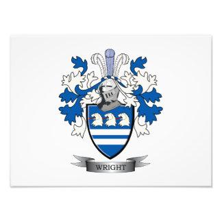 Wright-Wappen Fotodruck