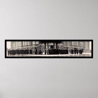 WSC Uni schloss Klassen-Foto 1910 ab Plakat