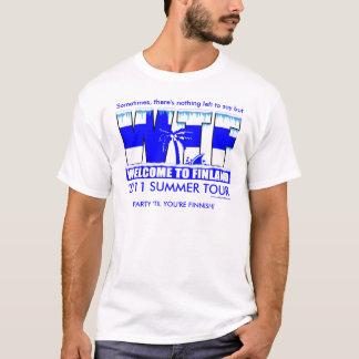 WTF 2011 (Entwurf auf Front) T-Shirt