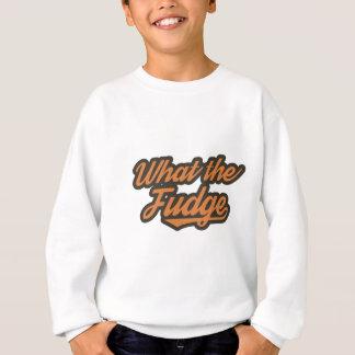 WTF lustig Sweatshirt