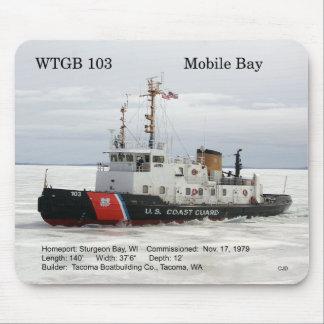 WTGB 103 bewegliche Bucht mousepad