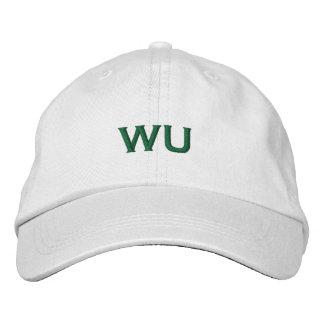 WU-Baseballmütze Bestickte Baseballcaps
