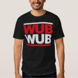 Wub Wub Dubstep Quadrat Tshirts