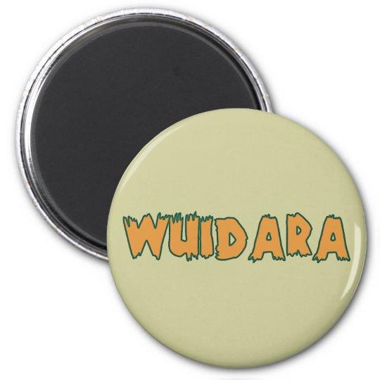 Wuidara Wilderer poacher Runder Magnet 5,1 Cm