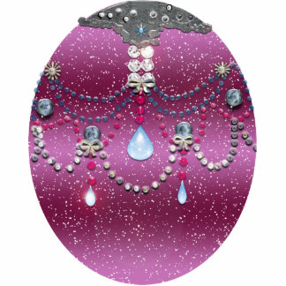 wulstiger Feiertagsball Fotoskulptur Ornament