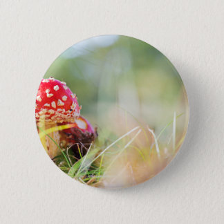 Wulstling muscaria runder button 5,1 cm