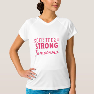 Wunde-heute starkes Morgen DriFit T-Stück T-Shirt