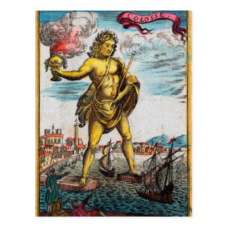 Wunder der Antike Postkarte