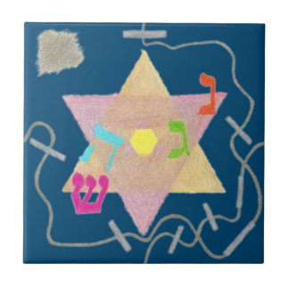 Wunder der Chanukka-Erinnerungs-Fliese Keramikfliese