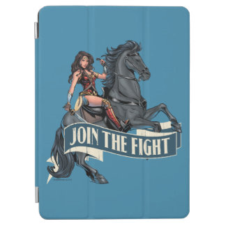 Wunder-Frau auf PferdeComic-Kunst iPad Air Cover