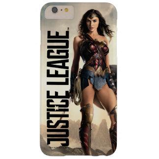 Wunder-Frau der Gerechtigkeits-Liga-| auf Barely There iPhone 6 Plus Hülle