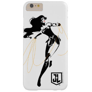 Wunder-Frau der Gerechtigkeits-Liga-| mit Barely There iPhone 6 Plus Hülle