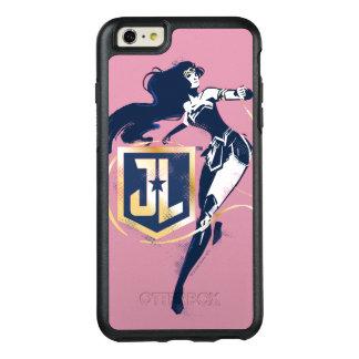 Wunder-Frau der Gerechtigkeits-Liga-| u. JL OtterBox iPhone 6/6s Plus Hülle