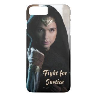 Wunder-Frau im Mantel iPhone 8 Plus/7 Plus Hülle