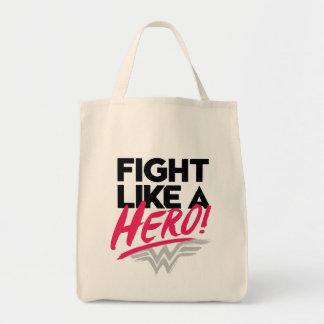 Wunder-Frau - Kampf wie ein Held Einkaufstasche