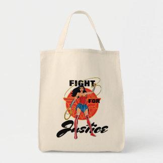 Wunder-Frau mit Lasso - Kampf für Gerechtigkeit Einkaufstasche