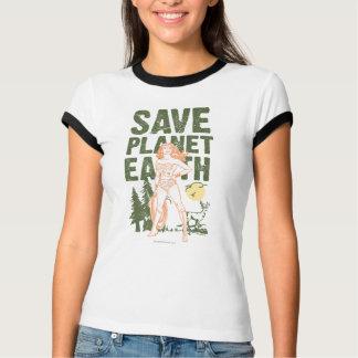 Wunder-Frau retten Planeten-Erde T-Shirt