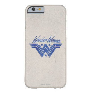 Wunder-Frau stapelte Stern-Symbol Barely There iPhone 6 Hülle