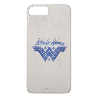 Wunder-Frau stapelte Stern-Symbol iPhone 8 Plus/7 Plus Hülle