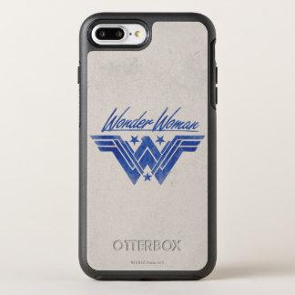 Wunder-Frau stapelte Stern-Symbol OtterBox Symmetry iPhone 8 Plus/7 Plus Hülle