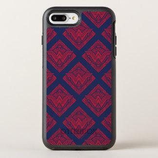 Wunder-Frauen-amazonisches Symbol OtterBox Symmetry iPhone 8 Plus/7 Plus Hülle