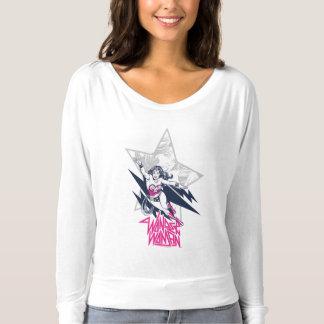 Wunder-Frauen-bezaubernde T-shirt