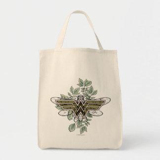 Wunder-Frauen-Bienenkönigin-Logo Einkaufstasche
