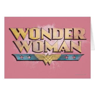 Wonder Woman Grußkarten von Zazzle