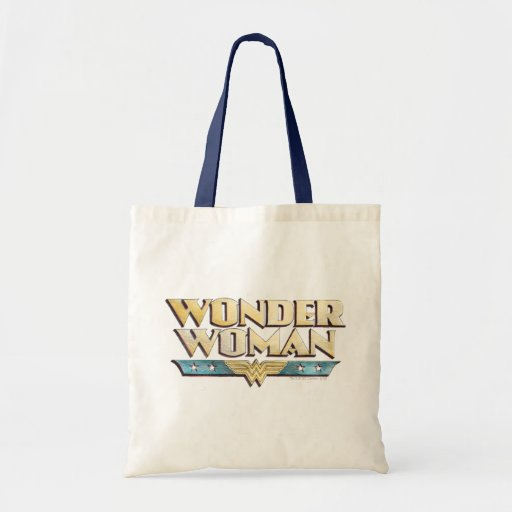 Wunder-Frauen-Bleistift-Logo Einkaufstaschen