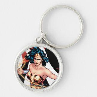 Wunder-Frauen-Comic-Abdeckung #12 Schlüsselanhänger