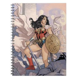 Wunder-Frauen-Comic-Abdeckung #13 Notizblock