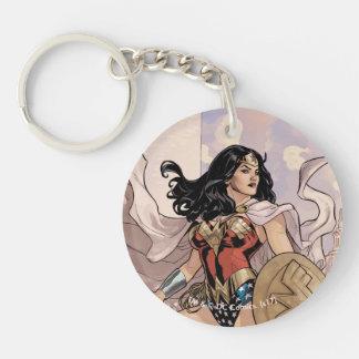 Wunder-Frauen-Comic-Abdeckung #13 Schlüsselanhänger