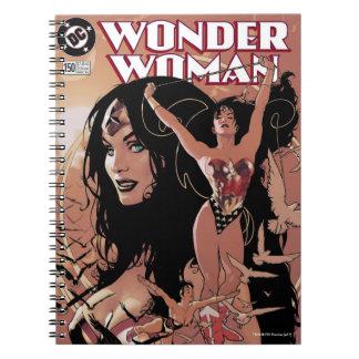 Wunder-Frauen-Comic-Abdeckung #150: Triumphierend Notizblock