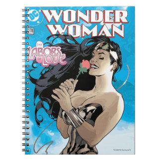 Wunder-Frauen-Comic-Abdeckung #178 Spiral Notizblock