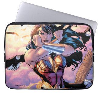 Wunder-Frauen-Comic-Abdeckung #1 Laptop Sleeve