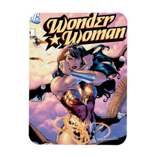Wunder-Frauen-Comic-Abdeckung #1 Magnet