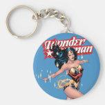 Wunder-Frauen-Comic-Abdeckung Schlüsselband