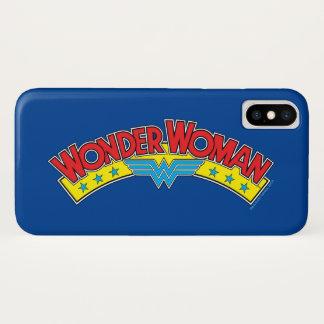 Wunder-Frauen-Comic-Buch-Logo 1987 iPhone X Hülle