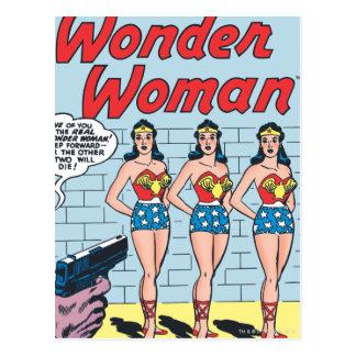 Wunder-Frauen-Dreiergruppen-Identität Postkarte
