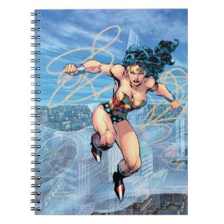 Wunder-Frauen-Dreiheits-Comic-Abdeckung #16 Notizblock