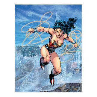 Wunder-Frauen-Dreiheits-Comic-Abdeckung #16 Postkarte