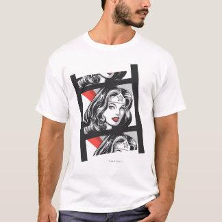 Wunder-Frauen-Film-Streifen T-Shirt