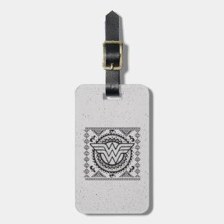 Wunder-Frauen-geistiger Stammes- Entwurf Gepäckanhänger