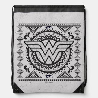 Wunder-Frauen-geistiger Stammes- Entwurf Sportbeutel